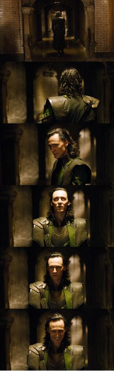 "Tom Hiddleston ""Loki"" ""The Avengers"" (Deleted scene)"