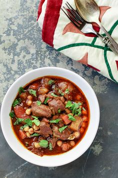 Moroccan Lamb Stew: This stew is a simple one-pot-wonder. Once you have everything in your pot, you put it in the oven and relax. And while the oven works its magic cooking that lamb to tender perfection, you just go and enjoy yourself with loved ones.