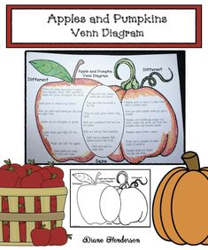 Pumpkin Activities: FREE comparing apples with pumpkins Venn Diagram worksheet. Perfect culminating activity to reinforce what your students have learned about apples & pumpkins. Halloween Writing Prompts, Fun Writing Prompts, Cool Writing, Teacher Freebies, Classroom Freebies, Classroom Decor, Apple Activities, Halloween Activities, Venn Diagram Worksheet