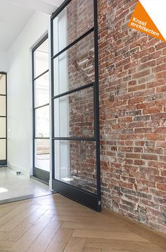 Brick, Old Brick Wall, House Design, Exposed Brick Walls, Brick Living Room, New Homes, Indoor Design, Industrial House, Home Deco