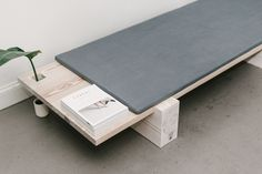 B|01 is a minimal bench created by Brooklyn-based designer Levi Gordy.