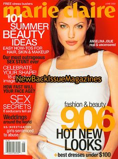 all angelina jolie magazine covers   ... never read mint condition magazine name cover model magazine condition