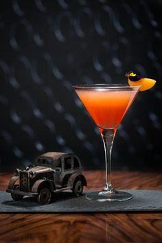 """""""Better a witty fool than a foolish wit."""" Twelfth Night, Act I, Scene V  For February we've taken a twist on Twelfth Night, turning the Charlie Chaplin in to The Feste with a fruity mix of apricot brandy, sloe gin and fresh lime juice."""