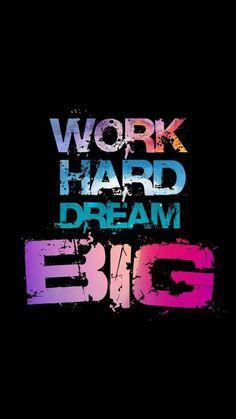 Big dreams follow