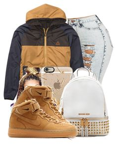 Love Yours by danimack03 on Polyvore featuring polyvore, fashion, style, Billabong, MICHAEL Michael Kors, Casetify, NIKE and clothing