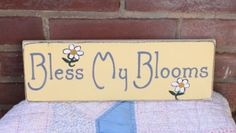 Cute spring garden sign available @ www.icehousecrafts.com