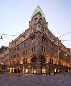 Pohjola Buildingon on Aleksanterinkatu Herman Gesellius, Armas Lindgren & Eliel Saarinen, 1901 composite of two shifted images Places To Travel, Places To Visit, Visit Helsinki, Baltic Cruise, Scandinavian Countries, Baltic Sea, Cruise Vacation, Holiday Travel, Norway