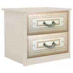 Noční stolek Granda - béžová/ořech Nightstand, Table, Furniture, Home Decor, Bedside Desk, Night Stands, Interior Design, Home Interior Design, Desk