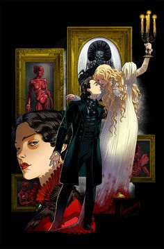 Crimson Peak by rerekina on DeviantArt http://rerekina.deviantart.com/art/Crimson-Peak-585422285