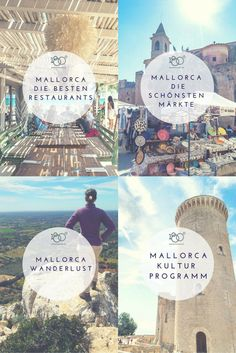 Mallorca Vacation 2017 – The best tips from the island Vacation Trips, Dream Vacations, Travel Around The World, Around The Worlds, Reisen In Europa, Going On A Trip, Travel Companies, Beautiful Places In The World, Travel Goals