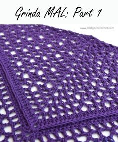 Grinda MAL, Part crochet shawl, Scheepjes Whirl Crochet World, Crochet Shawls And Wraps, Crochet Scarves, Crochet Clothes, Crochet Lace, Crochet Hooks, Free Crochet, Ravelry, Crochet Designs