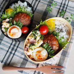 中学生と高校生娘のお弁当 Bento Recipes, Lunch Box Recipes, Cooking Recipes, Healthy Recipes, Bento Ideas, Cute Food, A Food, Food And Drink, Bento Box Lunch For Adults