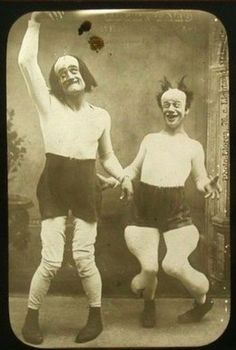 creepy. but more comically creepy than creepy creepy, ya know?