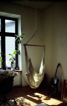 hammock in the living room