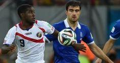 Costa Rica enfrenta a Grecia por los octavos de final de Brasil 2014. Eliminó a Grecia en penales.