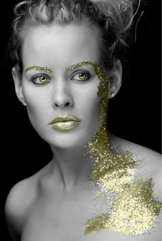 Gold dust...