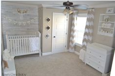 Chic beige nursery with a rustic twist.  http://www.babydeco.co.uk/nursery-tour-melissa/