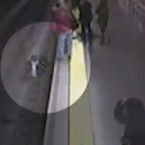 HERO: Cop rescues woman who fell onto subway tracks   Wow! An amazing must watch!