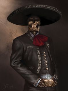 Items similar to Viva La Muerte By Benja Torres Dorin from Mexico on Etsy - Viva La Muerte By Benja Torres Dorin from Mexico by Aztec Art, Skull Artwork, Mexican Art Tattoos, Tattoos, Mexican Culture Art, Chicano Art, Culture Art, Art, Chicano Tattoos