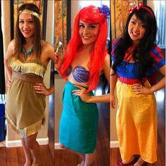 teske goldsworthy teske goldsworthy sok gab solrzano gab solrzano hur im so happy they let me make their costumes so much fun to make - Disney Princess Halloween Costumes Diy