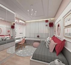 Teen Girl Bedrooms - incredibly super sweet teen girl room tips and tricks. Hungry for other inspiring teen room styling designs please visit the pin to study the post idea 2440572225 immediately Bedroom Decor For Teen Girls, Teenage Girl Bedrooms, Girl Bedroom Designs, Teen Bedroom Colors, Trendy Bedroom, Colorful Teen Bedrooms, Girl Rooms, Bedroom Themes, Girs Bedroom Ideas