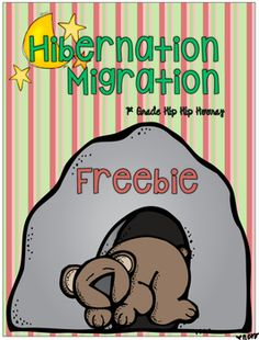 Enjoy this favorite literature story and use it to expand student's understanding of Hibernation and Migration!MicheleThe complete packet can be found by clicking here.