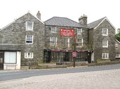 The Plume of Feathers at Princetown. This used to be my local.
