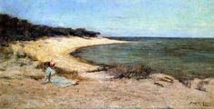 Summer Sea, huile sur toile de Frederick Mccubbin (1855-1917, Australia)