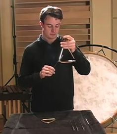 Percussion - Triangle [Indefinite pitch]