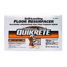 Quikrete Fast-Setting Self-Leveling Floor Resurfacer is a self-finishing interior floor topping and underlayment specially formulated to produce smooth surfaces ready for the installation of ceramic tile, resilient flooring or other finishes. No troweling required. Epoxy Garage Floor Coating, Concrete Floor Coatings, Garage Floor Coatings, Concrete Resurfacing, Concrete Cement, Epoxy Floor, Concrete Floors, Self Leveling Floor, Pit Barrel Cooker