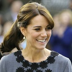 """76 Likes, 2 Comments - Annoushka Jewellery (@annoushkajewellery) on Instagram: """"The #duchessofcambridge at #chance UK Yesterday #royal #style #beautiful #diamond #pearl #earrings"""""""