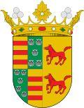 Coat Of Arms of  Marques of Villafranca del Bierzo