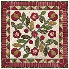 Henry Glass Fabrics: Kim Diehl in American Patchwork and Quilting! Applique Patterns, Applique Quilts, Quilt Patterns, Small Quilts, Mini Quilts, Quilting Projects, Quilting Designs, American Patchwork And Quilting, Country Quilts