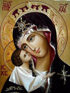 Icon beauty - the Holy Theotokos