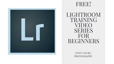 Free Lightroom Training Series For New PhotographersSo you're just starting out with photography and trying to figure out all the editing software that's out there? Lightroom is a common place for new photographers to start because it offers a lot of simple tools and sliders that can really make…