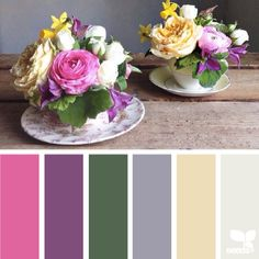 today's inspiration photo for { spring hues } is by @aquietstyle ... thank you, Emma for this incredibly inspiring share in #SeedsColor ... ideal for the Easter holiday!