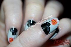Tick Tick Tick Tick BOOOOOM!  The first installment in my MOONICURE Monday feature totally 'bombed'. ;)