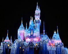 Cinderella's Castle at Christmas