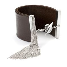 Our stunning Pradot cuff is made from high quality leather hide and pure silver diamond cut chain. The epitome of luxury, decadence and sexy sophistication Silver Diamonds, Guitars, Diamond Cuts, Belt, Pure Products, Jewellery, Chain, Luxury, Leather
