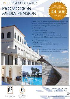 Promoción Media Pensión en Hotel Playa de la Luz (Rota - Cádiz) desde 44,50 € ultimo minuto - http://zocotours.com/promocion-media-pension-en-hotel-playa-de-la-luz-rota-cadiz-desde-4450-e-ultimo-minuto/