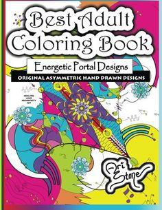 Best Adult Coloring Book: Energetic Portal Designs by Ari Stone http://www.amazon.com/dp/0692336141/ref=cm_sw_r_pi_dp_Y85Bvb00D8MYZ