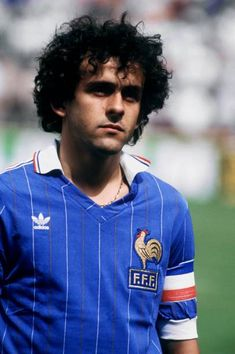 Retro Football: 11 Awesome Photos Of Michel Platini In His Prime Football Icon, Best Football Players, Retro Football, Football Photos, World Football, Sport Football, Football Jerseys, Soccer Players, Michel Platini