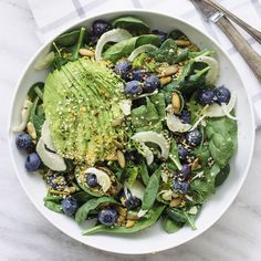Doing lunch right with my beauty foods salad that'll make you glow from the inside out!