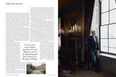 Harper's Bazaar June 2013 Earl Spencer | Henry Bourne