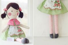 Looks like someone copied my doll designs... I guess imitation is a form of flattery