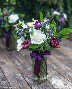 DIY Tutorial: DIY crepe paper flowers / DIY Paper Flower Bouquet - Bead&Cord