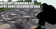 O militante do Partido dos Trabalhadores, Carlos Araújo, de Brasília, enviou um relato dramático sobre como se decepcionou com o partido...