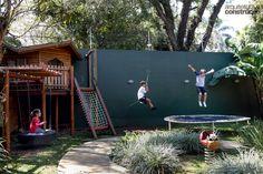 Um quintal dos sonhos para as crianças
