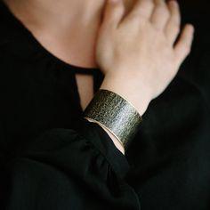 Book of the Dead Brass Cuff Bracelet  by JezebelCharms on Etsy