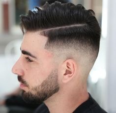 Line up With Hipster hair Cut for men